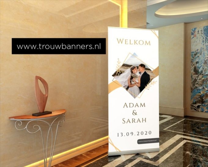Trouwbanners